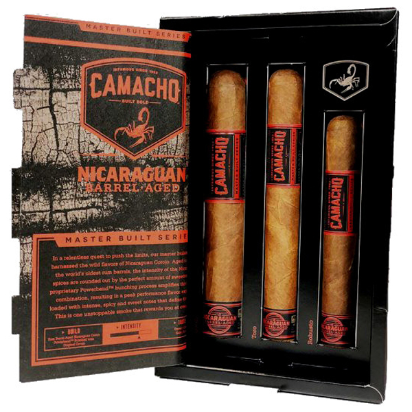Monatszigarre Dezember – Camacho Nicaraguan Barrel aged