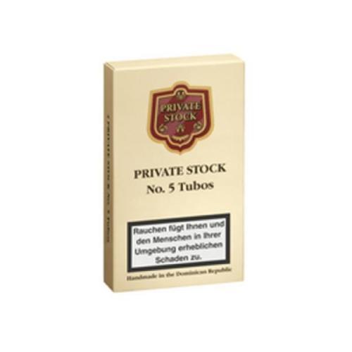Private Stock Long Filler No 5 Tubos 4er Schachtel